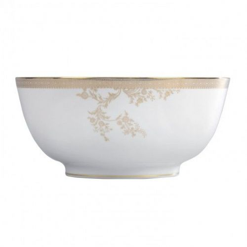 Vera Wang Lace Gold Salad Bowl 25cm